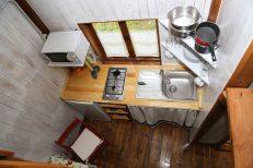 Vista De La Cocina Desde El Altillo